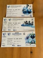 Aegon Championships @ The Queens Club London Tickets from 2010,2011 & 2012