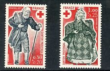 STAMP / TIMBRE FRANCE NEUF  N° 1959/1960** CROIX ROUGE / 1977