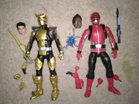 Power Rangers Lightning Collection Beast Morphers Red And Gold Ranger