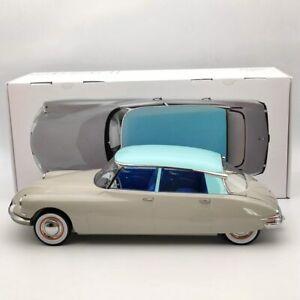 Norev 1/12 Citroen DS 19 1956 Gris rose & Turquoise Diecast Model Limited 121566