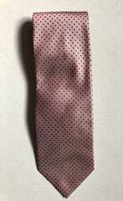VAN GILS Pink Spotted 100% Silk Tie
