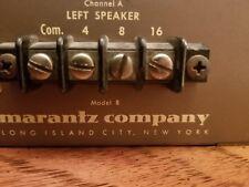 Vintage Marantz Model 8 Stereo Vacuum Tube Power Amplifier -