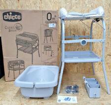 Chicco Wickeltisch »Cuddle & Bubble Comfort, Cool Grey«, Bade-/Wickelkombination