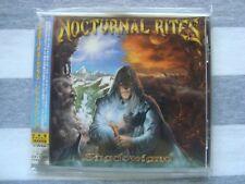 NOCTURNAL RITES Shadowland CD PROMO CD, JAPAN OBI + bonus track