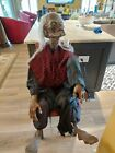 Rare Spencers Gemmy Life Size Crypt Keeper Animated Halloween/Horror prop