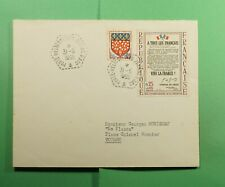 DR WHO 1965 FRANCE NAVAL SHIP JEANNE D'ARC TO TOULON SEMI POST  f52969