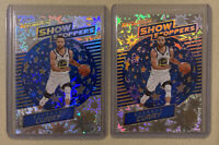 Lot Of 2x Stephen Curry 2017-18 Panini Revolution Show Stoppers IMPACT 💥