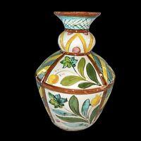 "Vintage Italy Pottery Vase 8""H 5""W"
