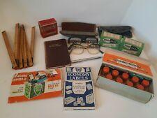 Vintage Stationery & Desktop Items Lot, Inc. Photo Tint Set And Multicolour Pen.