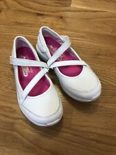 Sketchers, Girls, Size 13, White Leather Sneaker