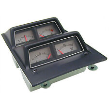 CONSOLE GAUGE ASSEMBLY; 68-69 CAMARO WITH LOW FUEL WARNING