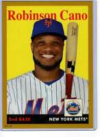Robinson Cano 2019 Topps Archives 5x7 Gold #30 /10 Mets