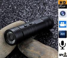 Flashlig 720P Mini Sport DV Camera Helmet Bike Adventure lighting Cam Camcorder