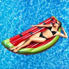 Rexco Giant Inflatable Watermelon Beach Float Lounger Swimming Pool Toy Mat Lilo
