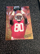 1994 ACTION PACKED FOOTBALL CATCHING FIRE RICE, SHARPE, RISON LOT
