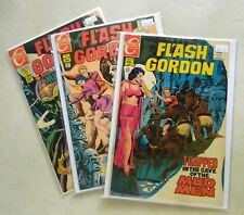 Flash Gordon #13 & 14 $75.00 (1969, Charlton) HIGH-GRADE LOT 8.0 VF Jeff Jones