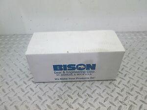 BISON GEAR MOTOR SERIES 100 230V 12 RPM 139:1 RATIO 1/20 HP (016-103-3139)