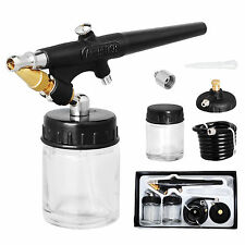 0.8mm Airbrush Adjustable Nozzle kit Cake Make Up Car Paint Air Brush Spray Gun