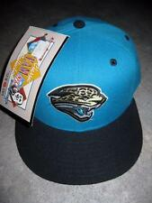 Vintage New Era Jacksonville Jaguars Dead Stock Fitted Hat Cap Size 7 With Tags
