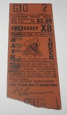 July 18, 1943 Pittsburgh Pirates v Cincinnati Reds Baseball Ticket Stub Al Lopez