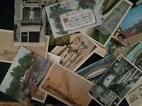 Postcards, Random Vintage Postcard Lot of 10,  Post Cards, 1905-1970's