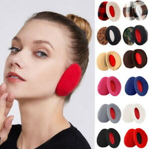 Winter Super Soft Ear Muffs Warmer Ladies Mens Womens Earflaps Cosy Warm Cold UK