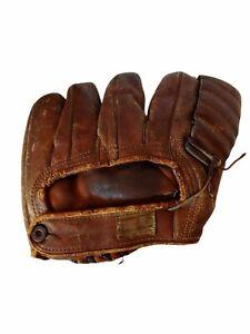 Howard Pollet 1940s-50s Nokona Baseball Glove Mitt