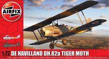 Airfix de Havilland DH.82a Tiger Polilla 1:72 Art. A02106 Avión Lona Hélice