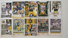 AARON RODGERS - 10 verschiedene Trading Cards (Lot) - GREEN BAY PACKERS