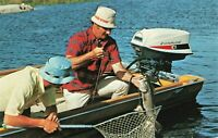 Postcard Fishing in Maine