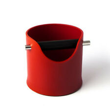 Red Coffee Knock Bin CREMA PRO Espresso Grinds Tamper Waste Box 110m