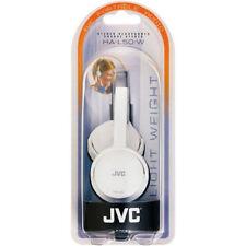 Écouteurs oreillettes blancs avec contrôle du volume