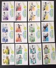 Australia 2016 Tennis Players From Booklet Self Adhesive Pairs M.N.H.