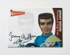 Unstoppable Cards Thunderbirds Series 2 Autograph Card Jeremy Wilkin JW1