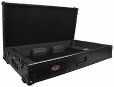 Pro X XS-DDJSZW All Black DJ ATA Flight Hard Case for Pioneer DDJ-SZ Controller