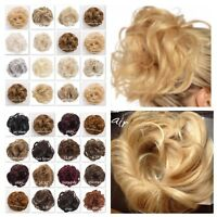 KOKO Hair Scrunchie Large Wavy Messy Bun Updo Hairpiece Wrap Various Natural