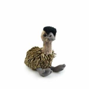 "Small Emu soft plush toy 5""/12cm sitting height Eco Friendly Soft Toy"