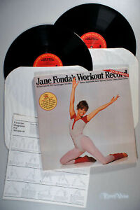 Jane Fonda - New and Improved Workout Record (1984) 2-LP Vinyl & Booklet