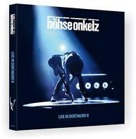 "Böhse Onkelz ""live in dortmund II"" Digipack 2CD NEU Album 2017"