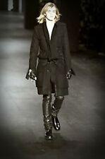 KARL LAGERFELD'S Dior Homme - HEDI SLIMANE AW03 'LUSTER' moleskin Napoleon coat