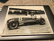 Antique 8x10 Auto Racing Photograph Indianapolis 500 Winner 1936 Miller
