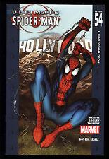 Ultimate Spider-Man (2000) #54 UK DVD Promo Variant Bendis & Bagley Hollywood VF