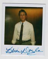 BRIAN DOYLE 1980'S ORIGINAL POLAROID PHOTO SIGNED AUTO JSA
