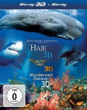 3D Blu-ray * IMAX 3D DELFINE UND WALE - HAIE - WELTWUNDER DER OZEANE # NEU OVP+