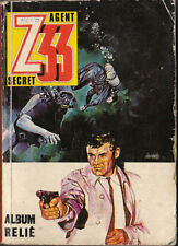 Agent Secret Z 33. Album relié n°153 à 156. Impéria