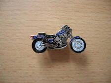 Pin Anstecker Yamaha Virago XV 535 / XV535 blau blue Motorrad 0063