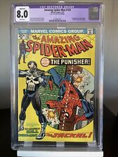 Amazing Spider-Man 129 Cgc 8.0 Restored 1st Appearance Of The Punisher MCU
