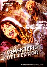 CEMENTERIO DEL TERROR (DVD PRECINTADO IMPORTACIÓN) TERROR DE CULTO