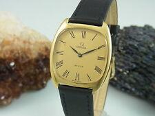Omega de ville mecánicamente funcionan dorado reloj hombre | 32x38 mm Ø | cal. 625
