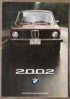 1975 BMW 2002 original Canadian sales brochure